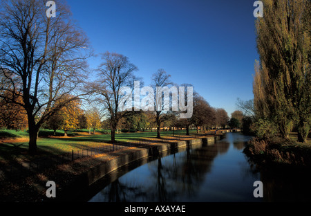 Beckets Park, Northampton, England, UK - Stock Photo