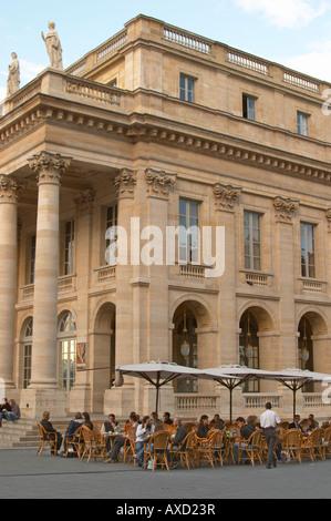 Le Grand Theatre theatre and opera house on Place De La Comedie. Bordeaux city, Aquitaine, Gironde, France - Stock Photo