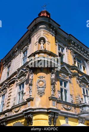 Beautiful building at Main Market Square in Przemysl of Poland - Stock Photo