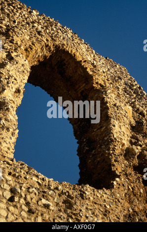 'Blue Window', Reading Abbey, Reading, Berkshire, England, UK - Stock Photo