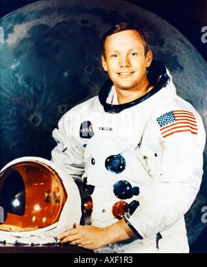 Neil Armstrong Astronaut - Stock Photo
