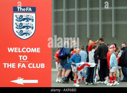 football fans - Stock Photo