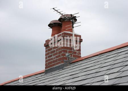 Roof rebuilding - Stock Photo