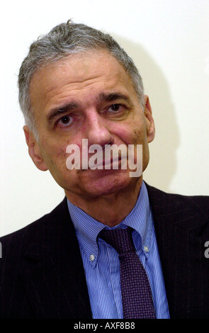 United States Presidential Candidate Ralph Nader  - Stock Photo