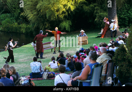 australian shakespeare company s wind in the willows royal botanic stock photo royalty free