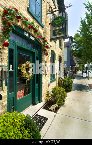Specialty shops in downtown Washington Avenue in Cedarburg WI The ...