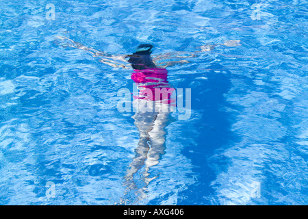 Spain ibiza 13 year old girl child female swimming under - Swimming pool girl christmas vacation ...