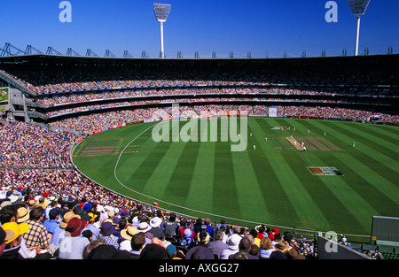 Melbourne Cricket Ground (MCG) Boxing Day Cricket Test (Australia Vs. England), , Melbourne,  Victoria, Australia, - Stock Photo