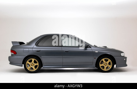 2000 Subaru Impreza Sti - Stock Photo