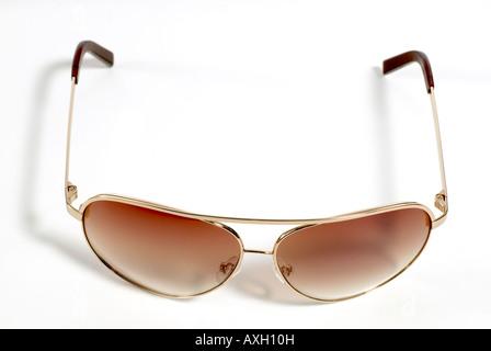 aviator glasses Sunglasses - Stock Photo