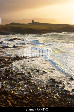 early morning at Mullaghmore Co Sligo on West Coast of Ireland - Stock Photo