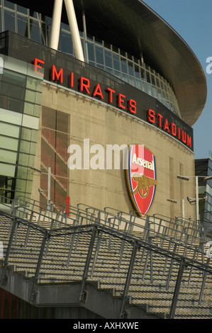 Front of the new arsenal emirates football stadium showing for Emirates stadium mural
