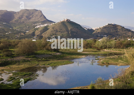 Alora Inland Costa del Sol Malaga Province Spain - Stock Photo