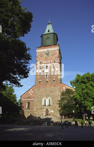 Turku Cathedral, Turku, Finland - Stock Photo