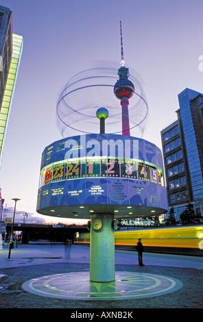World Watch, Alexanderplatz, Berlin, Germany - Stock Photo