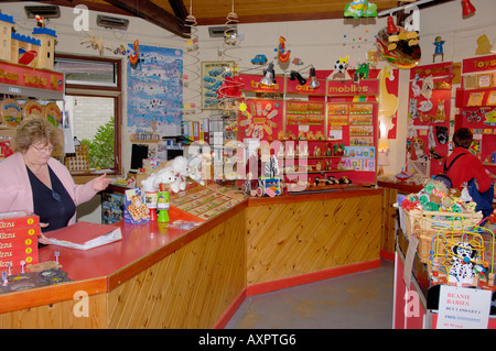 Inside the Toymakers Corris Craft Centre North West Wales - Stock Photo