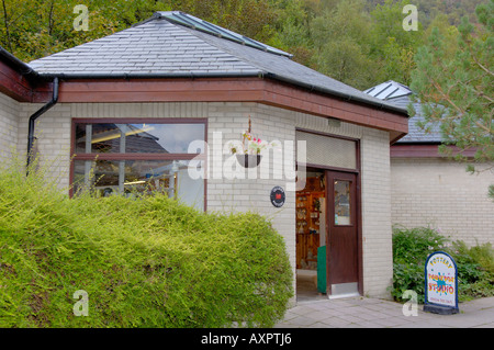Pottery Studio Corris Craft Centre North West Wales - Stock Photo