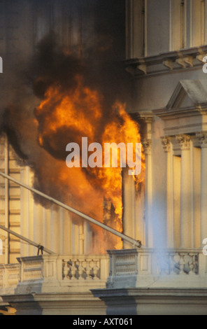 Iranian Embassy siege London England 5th May 1980 HOMER SYKES - Stock Photo