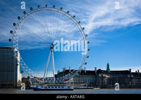 London Aquarium London Eye England UK - Stock Photo