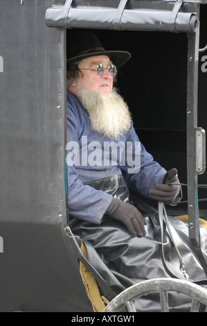 Amish lifestyle in and around Millersburg and Sugarcreek Ohio OH - Stock Photo