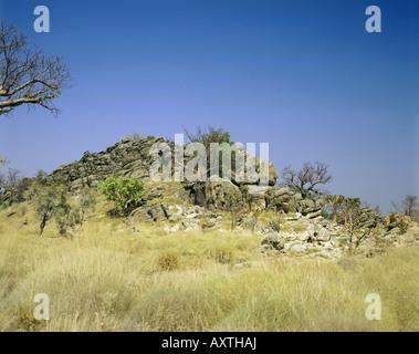 geography / travel, Australia, Western Australia, Kimberley Region, countryside near Leopold Downs, - Stock Photo