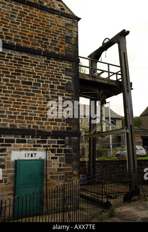 The historic Newcomen style engine and pump at Elsecar, Barnsley, South Yorkshire, UK
