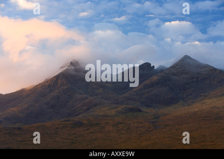 Cuillin Hills, Isle of Skye, Inner Hebrides, west coast, Scotland, United Kingdom, Europe - Stock Photo