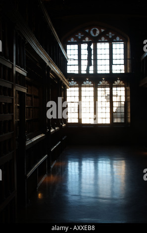Duke Humfreys in the Bodleian Library Oxford - Stock Photo