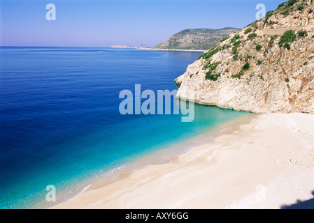 Kaputas beach, Lycia, Anatolia, Turkey, Asia Minor, Asia - Stock Photo