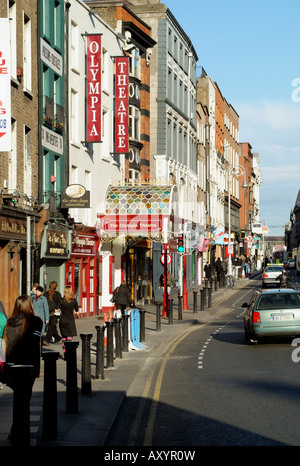 Olympia Theatre Dame Street Dublin Ireland - Stock Photo