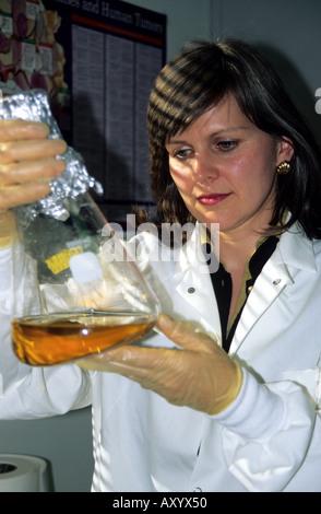 Chemist Scientist Model Released - Stock Photo