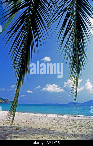 Thailand, Trat Province, South East Thailand, Ko Chang -Tourists on ...