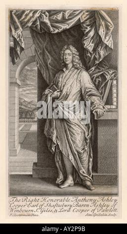 3rd Earl Of Shaftesbury - Stock Photo
