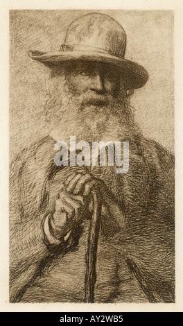 Walt Whitman Stock Photo
