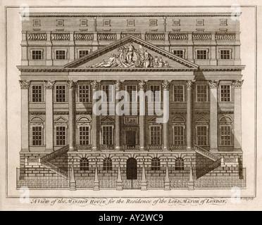 London Mansion House - Stock Photo