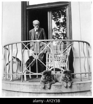 Sigmund Freud 1931 Neg17 - Stock Photo