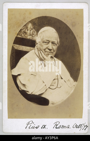 Pope Pius Ix Photo - Stock Photo