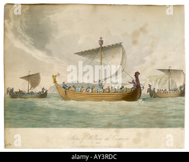 Boats Of The Conquest - Stock Photo