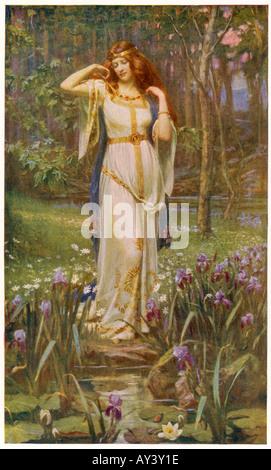 Myth Freyja Necklace - Stock Photo