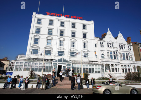 united kingdom essex southend on sea the westcliff hotel - Stock Photo