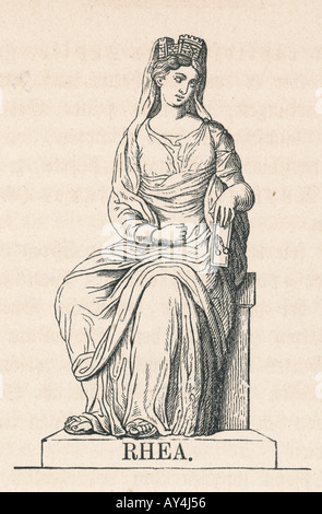 Classical Myth Rhea - Stock Photo