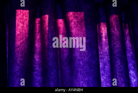 Funky Curtains - Stock Photo
