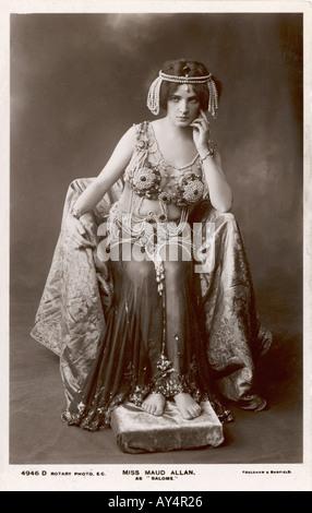 Maud Allan Salome - Stock Photo