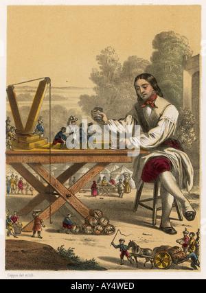 Gulliver Servants Lillip - Stock Photo
