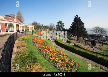 united kingdom essex southend on sea cliff gardens - Stock Photo