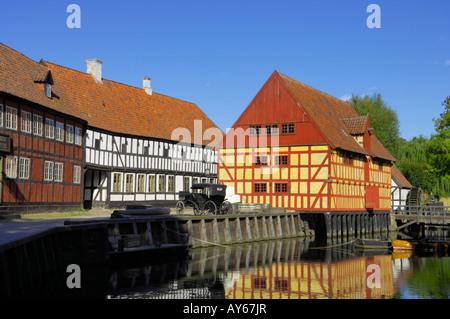 Custom House Den Gamle By Aarhus Denmark - Stock Photo
