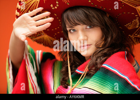 Young mexican woman - Stock Photo