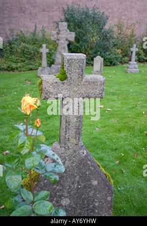 St Andrews Church Cemetery, Fort William, Scotland - Stock Photo
