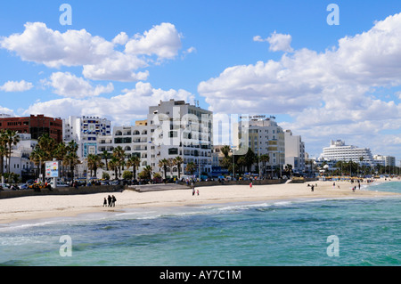 Seafront at Sousse,Tunisia, North Africa - Stock Photo