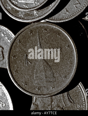 Euro coins 2002 stock photo royalty free image for Coin torino